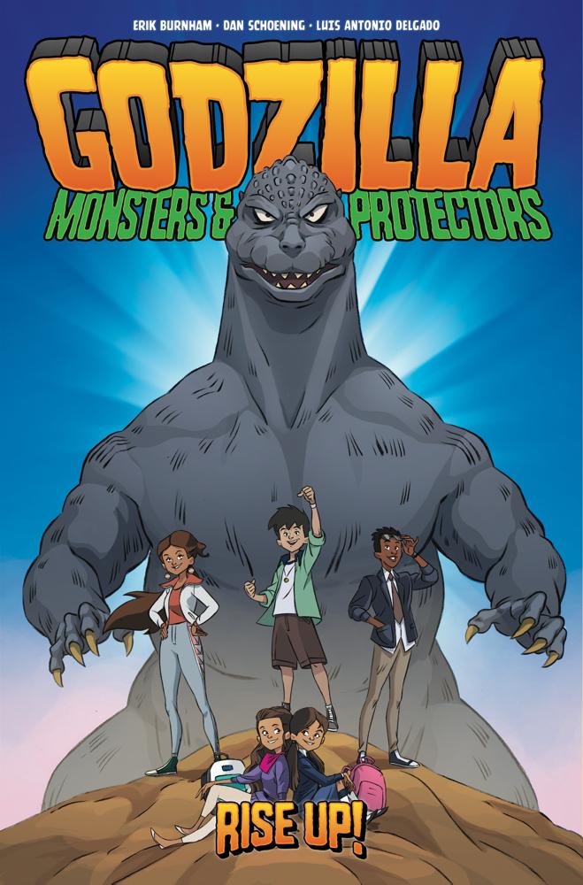 Godzilla_MP_TPB_cover IDW Publishing December 2021 Solicitations