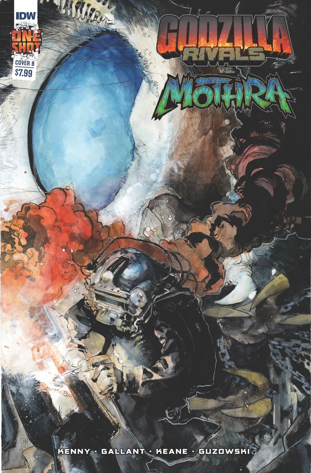 Godzilla_Rivals_2_Cover_RI ComicList Previews: GODZILLA RIVALS VS MOTHRA #1