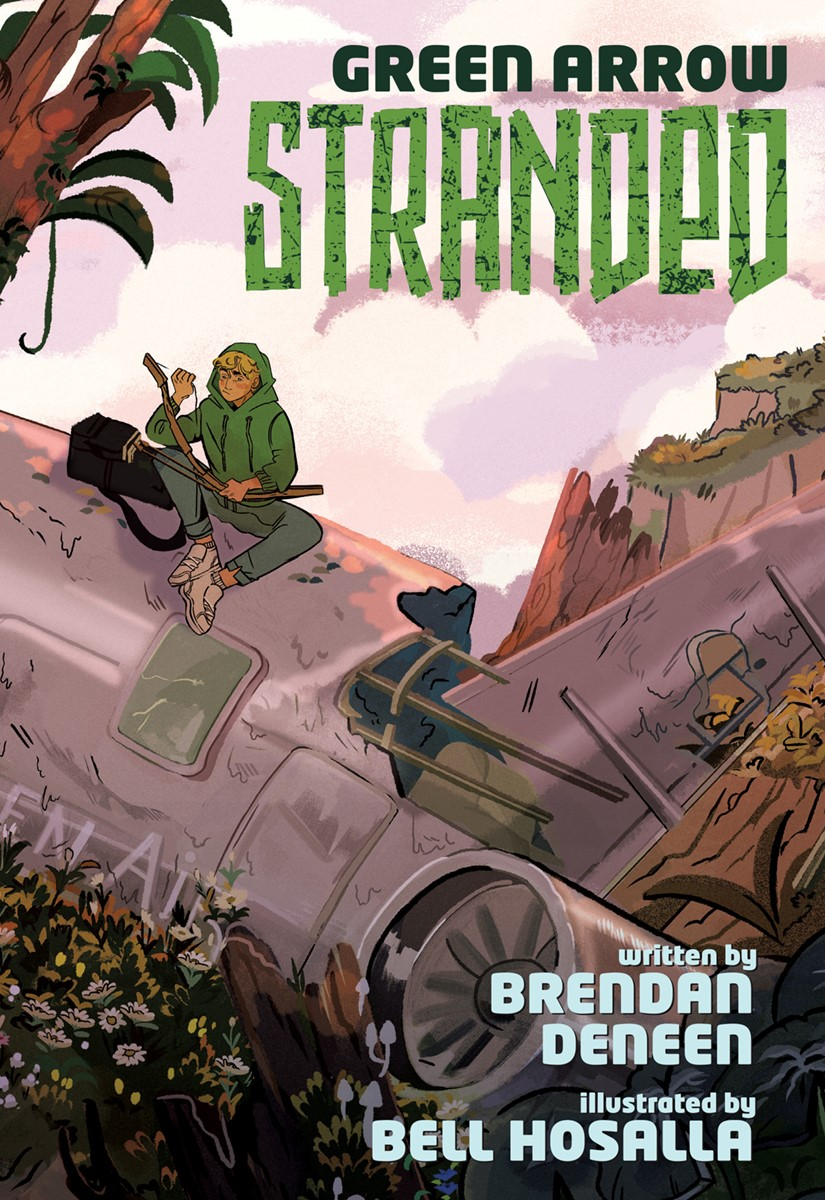 GreenArrowStranded DC Comics December 2021 Solicitations