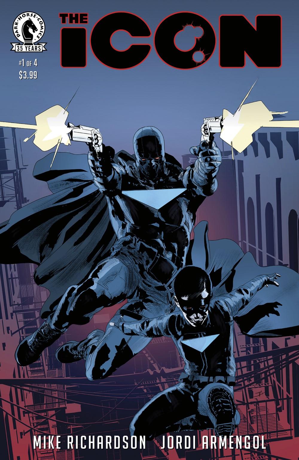 ICON_i1_CVR_4x6_SOL Dark Horse Comics December 2021 Solicitations