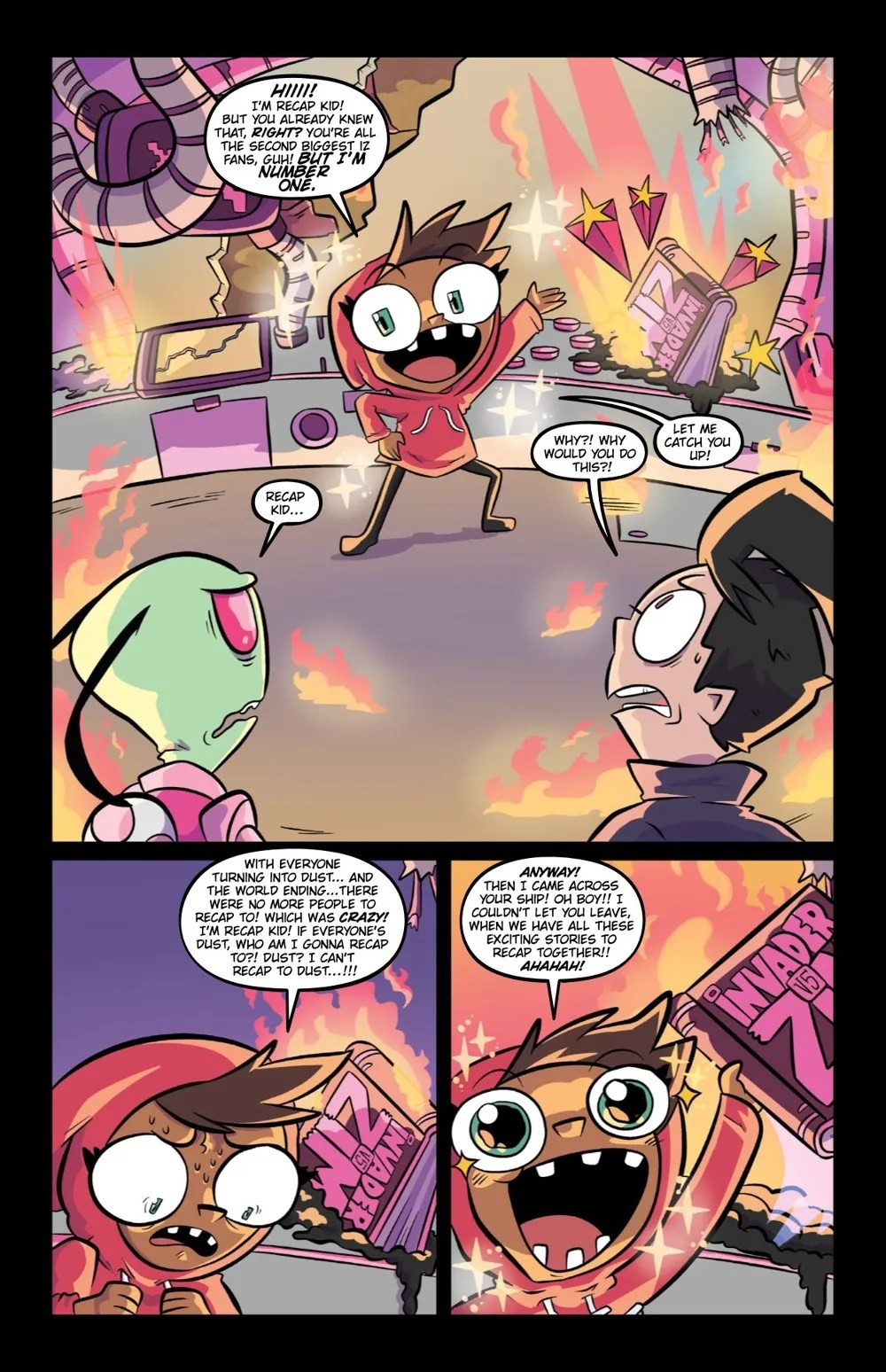 INVADERZIM5-HC-REFERENCE-010 ComicList Previews: INVADER ZIM DELUXE EDITION VOLUME 5 HC