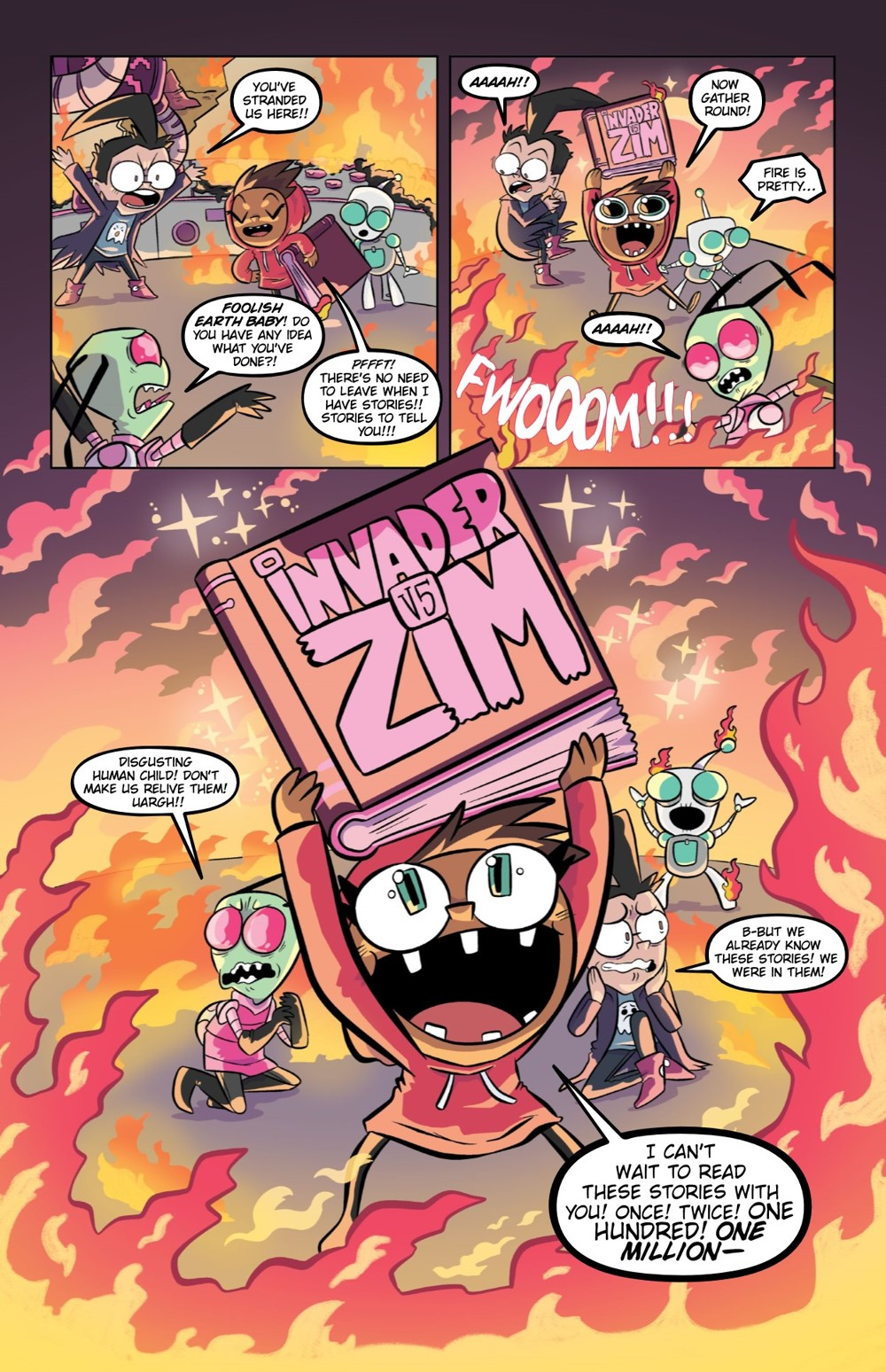 INVADERZIM5-HC-REFERENCE-011 ComicList Previews: INVADER ZIM DELUXE EDITION VOLUME 5 HC