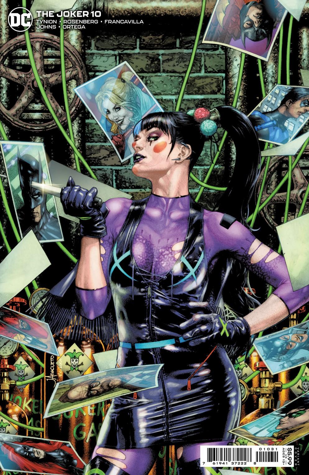 JKR_Cv10_var_punchline DC Comics December 2021 Solicitations