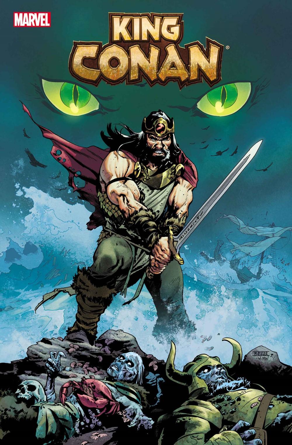 KINGCONAN2021001_Mahmud-1 Marvel Comics December 2021 Solicitations