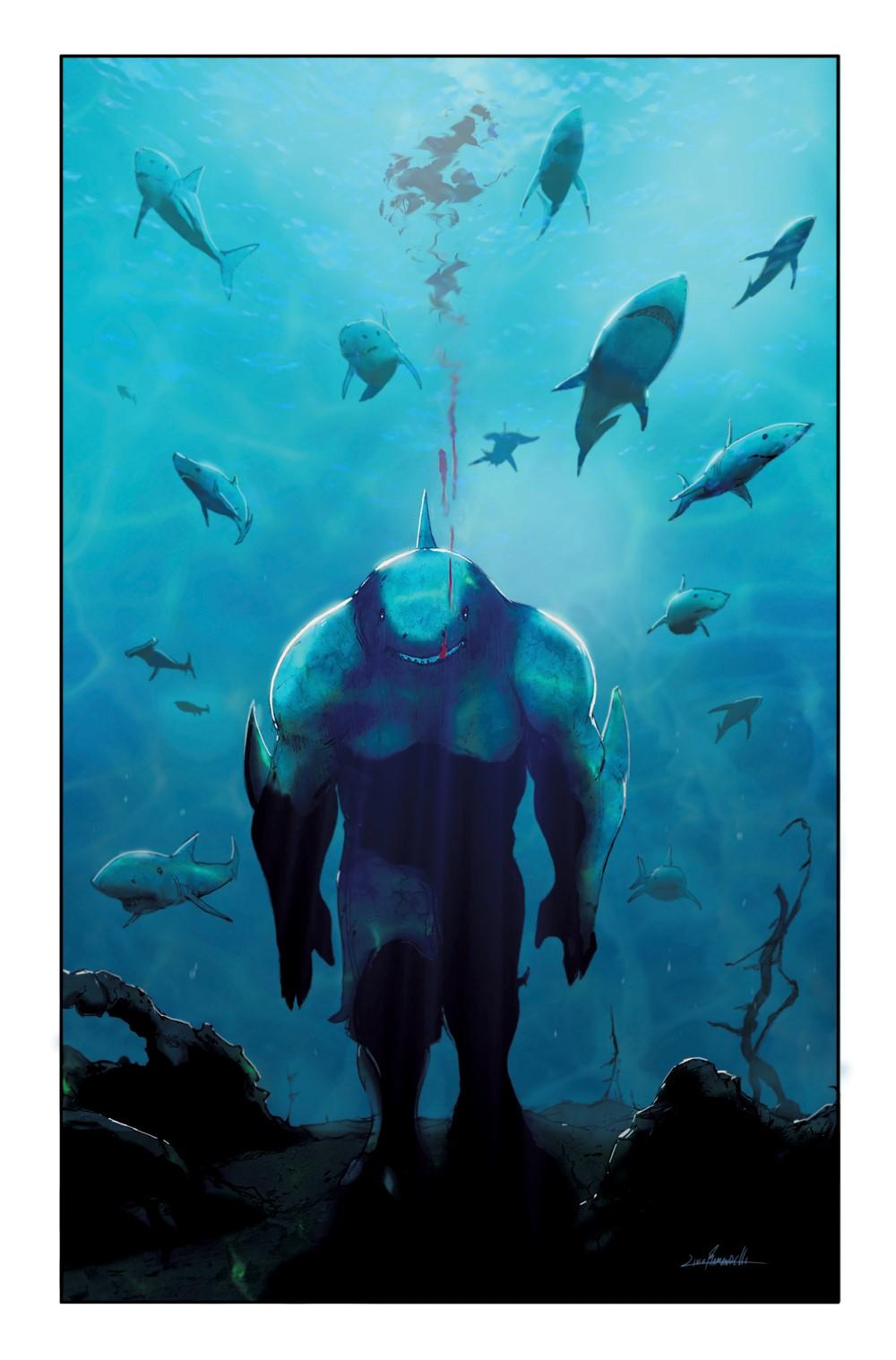 KingShark4VariantCover DC Comics December 2021 Solicitations