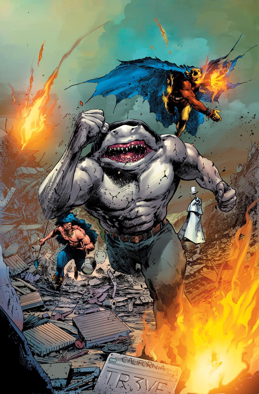 King_Shark_4_cover_COL DC Comics December 2021 Solicitations