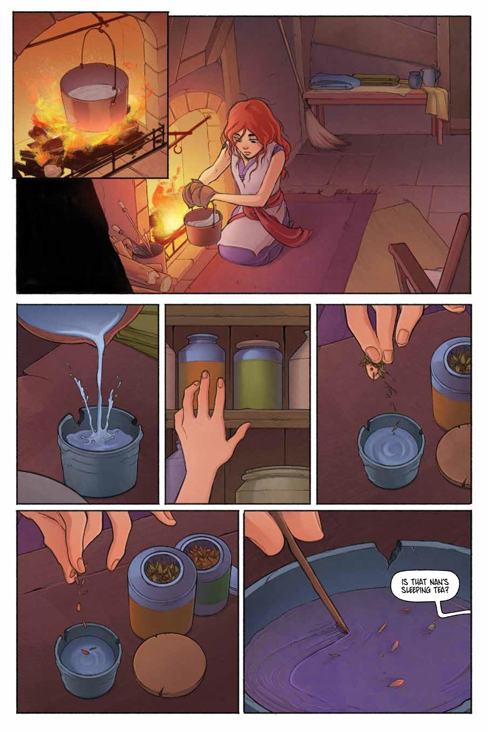 LastWitch_SC_PRESS_16 ComicList Previews: THE LAST WITCH FEAR AND FIRE GN