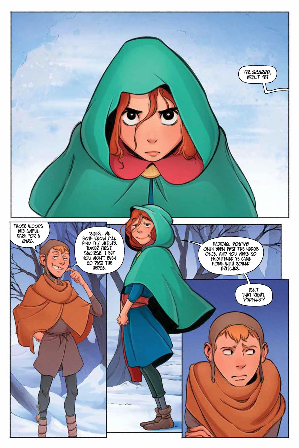 LastWitch_SC_PRESS_8 ComicList Previews: THE LAST WITCH FEAR AND FIRE GN