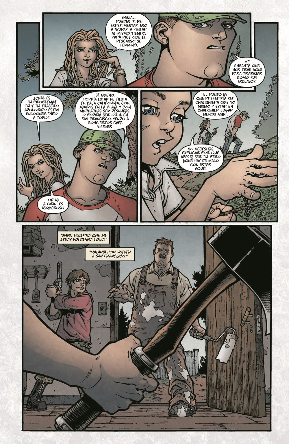 LockeandKey_TPB_pr-8 ComicList Previews: LOCKE AND KEY VOLUME 1 BIENVENIDOS A LOVECRAFT TP