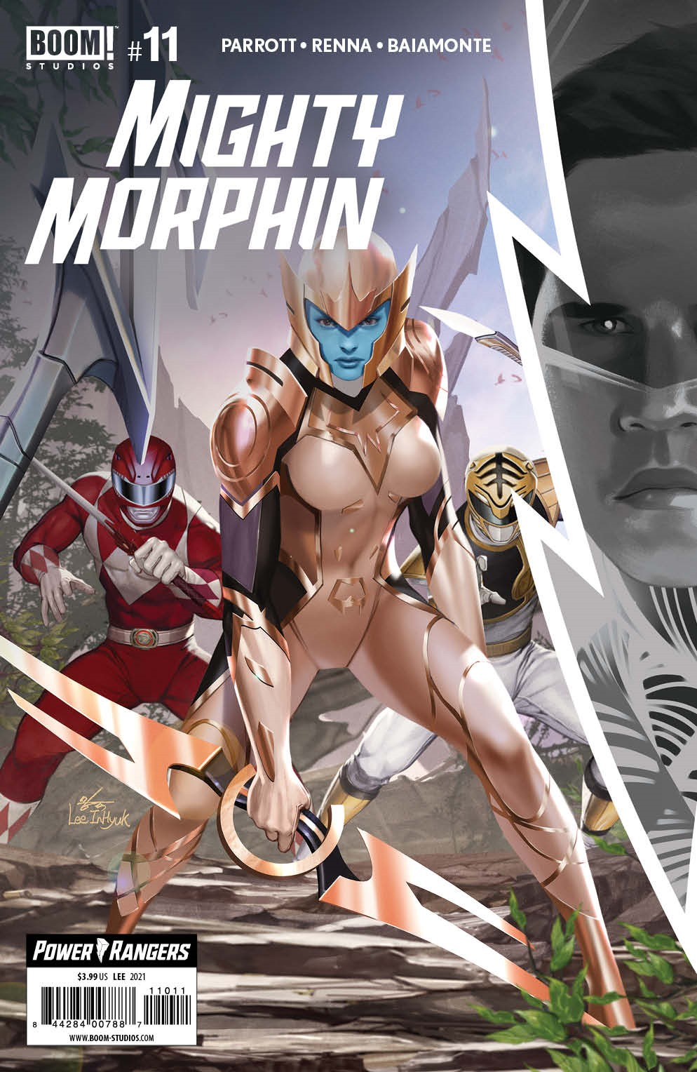 MightyMorphin_011_Cover_A_Main ComicList Previews: MIGHTY MORPHIN #11