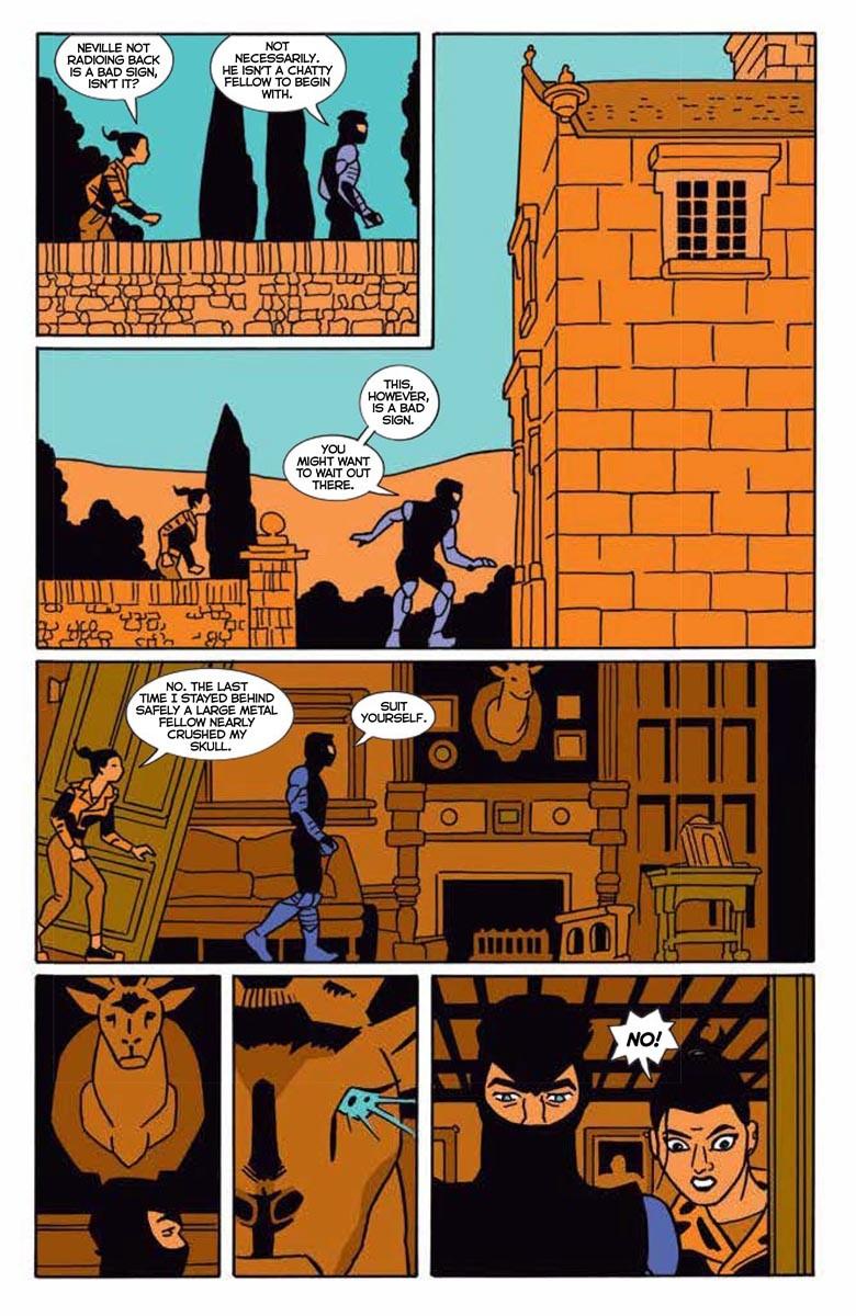 NINJAK_03_PREVIEW_05 ComicList Previews: NINJAK #3