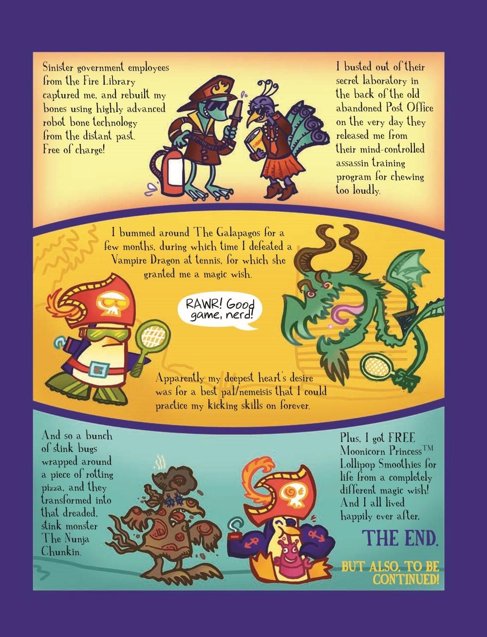 PPvNC_3_HC_pr-5 ComicList Previews: PIRATE PENGUIN VS NINJA CHICKEN VOLUME 3 MACARONI AND BEES HC