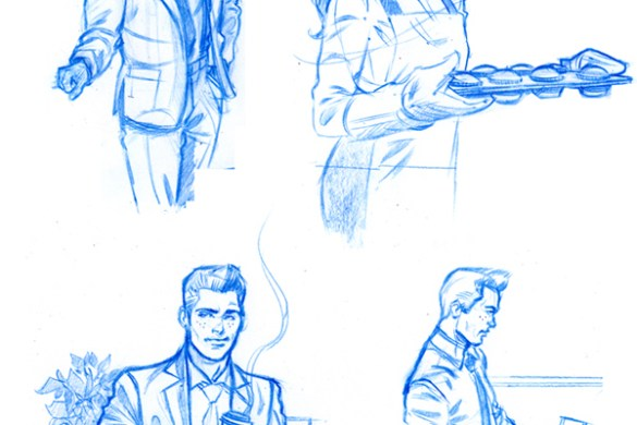 PostCollegeArchieConceptArt-Schonening2 You'll laugh and cry when you read ARCHIE'S HOLIDAY MAGIC SPECIAL #1