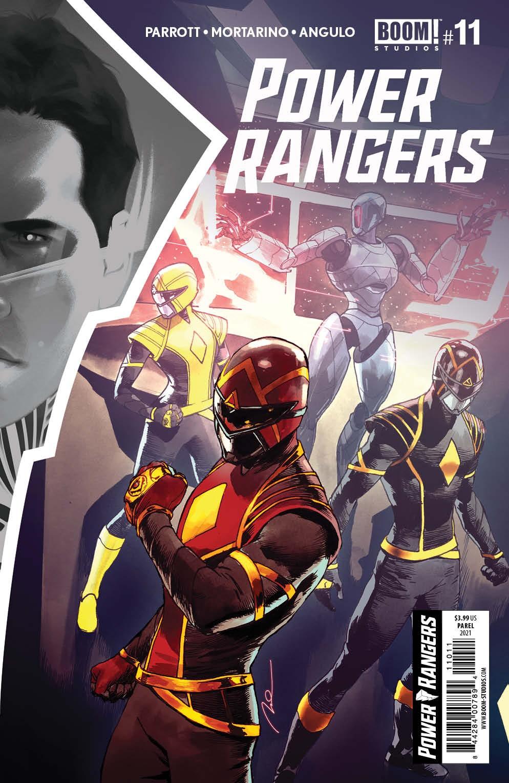 PowerRangers_011_Cover_A_Main ComicList Previews: POWER RANGERS #11