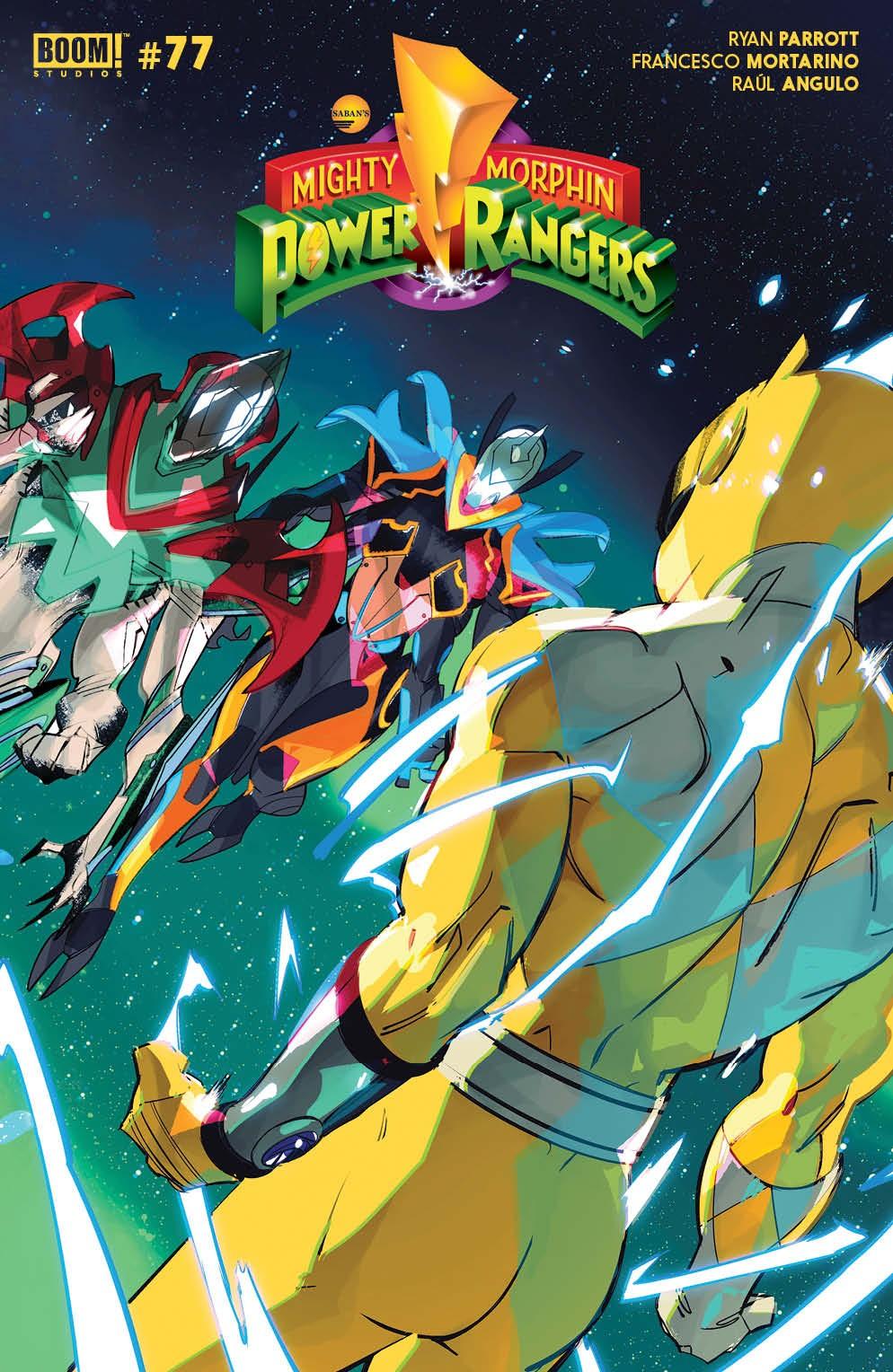 PowerRangers_011_Cover_B_Legacy_Variant ComicList Previews: POWER RANGERS #11