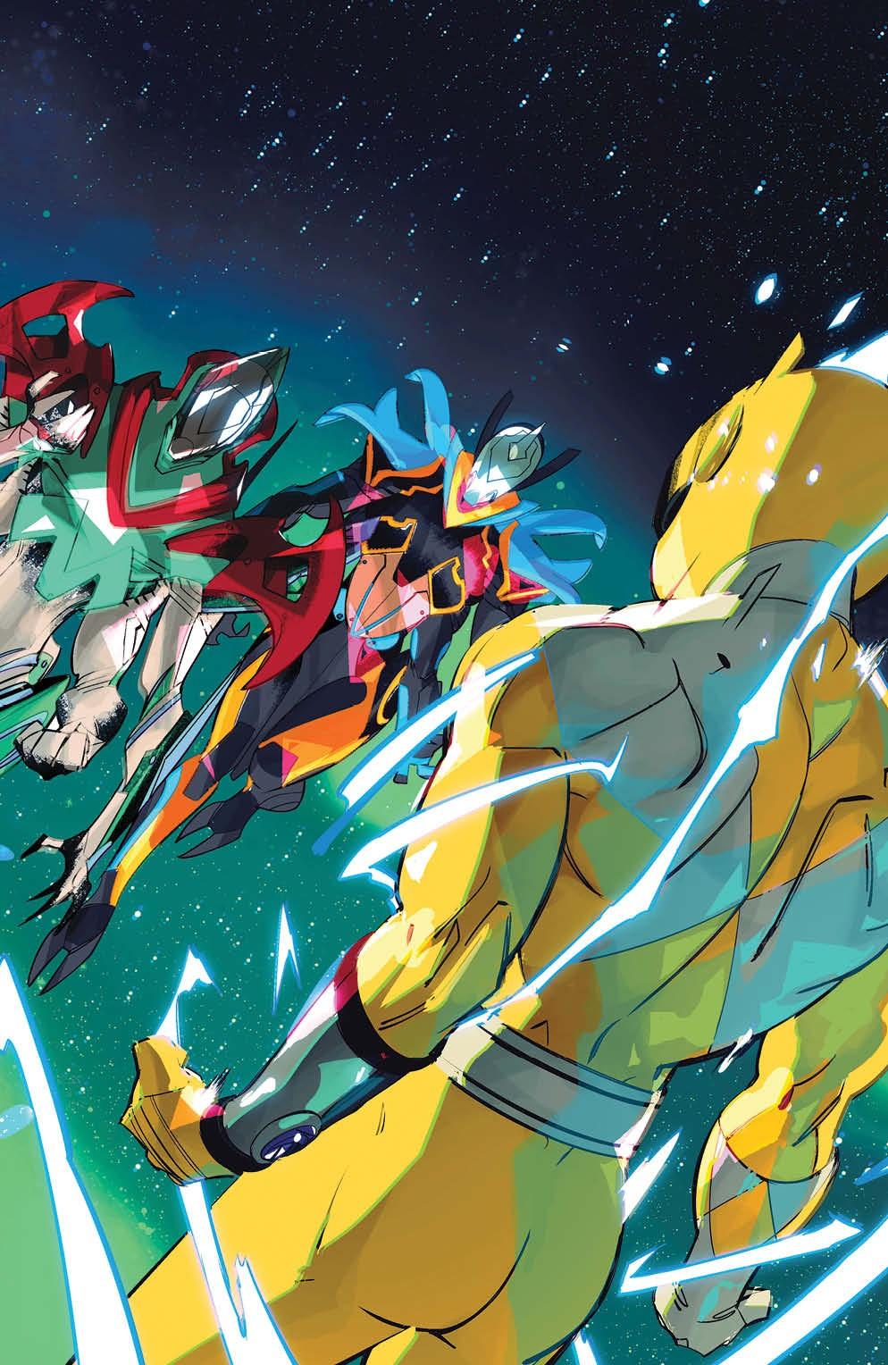 PowerRangers_011_Cover_D_Variant_Undressed ComicList Previews: POWER RANGERS #11