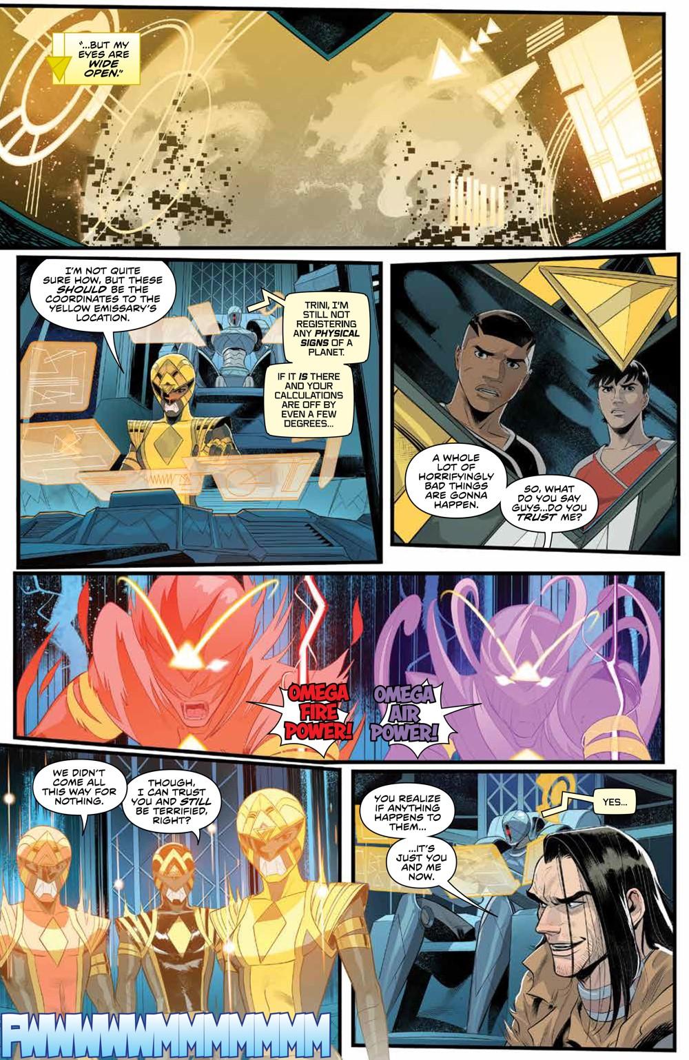 PowerRangers_011_PRESS_4 ComicList Previews: POWER RANGERS #11