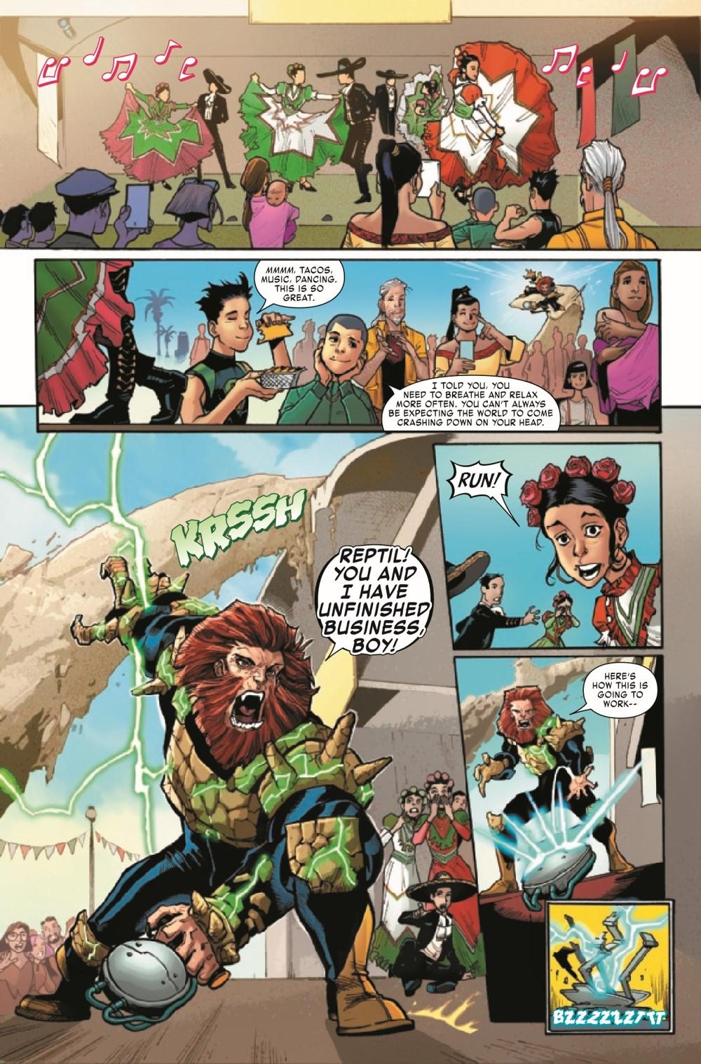 REPTIL2021004_Preview-4 ComicList Previews: REPTIL #4 (OF 4)