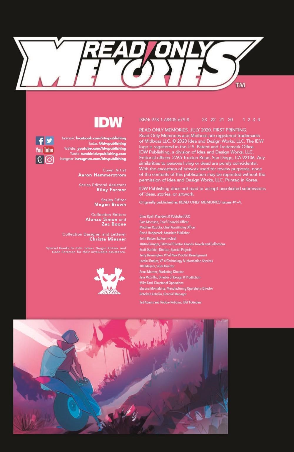 ReadOnlyMemories_TPB_pr-2 ComicList Previews: READ ONLY MEMORIES GN