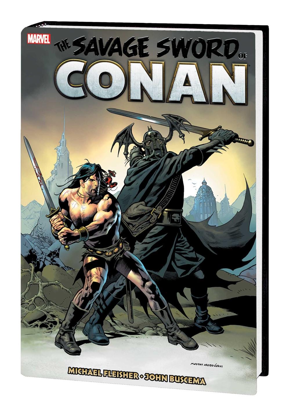 SSOCONANMAR_OMNIV07_HC_NOWLAN Marvel Comics December 2021 Solicitations