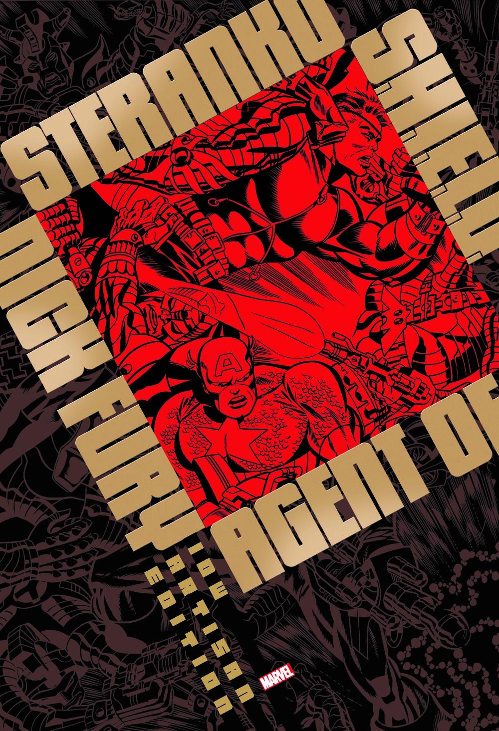 STERANKO-artisan-edition-cover-front ComicList Previews: JIM STERANKO'S NICK FURY AGENT OF S.H.I.E.L.D. ARTISAN EDITION TP