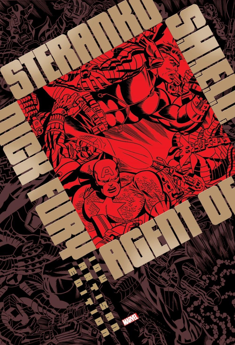 STERANKO_artisan_edition_pr-1 ComicList Previews: JIM STERANKO'S NICK FURY AGENT OF S.H.I.E.L.D. ARTISAN EDITION TP