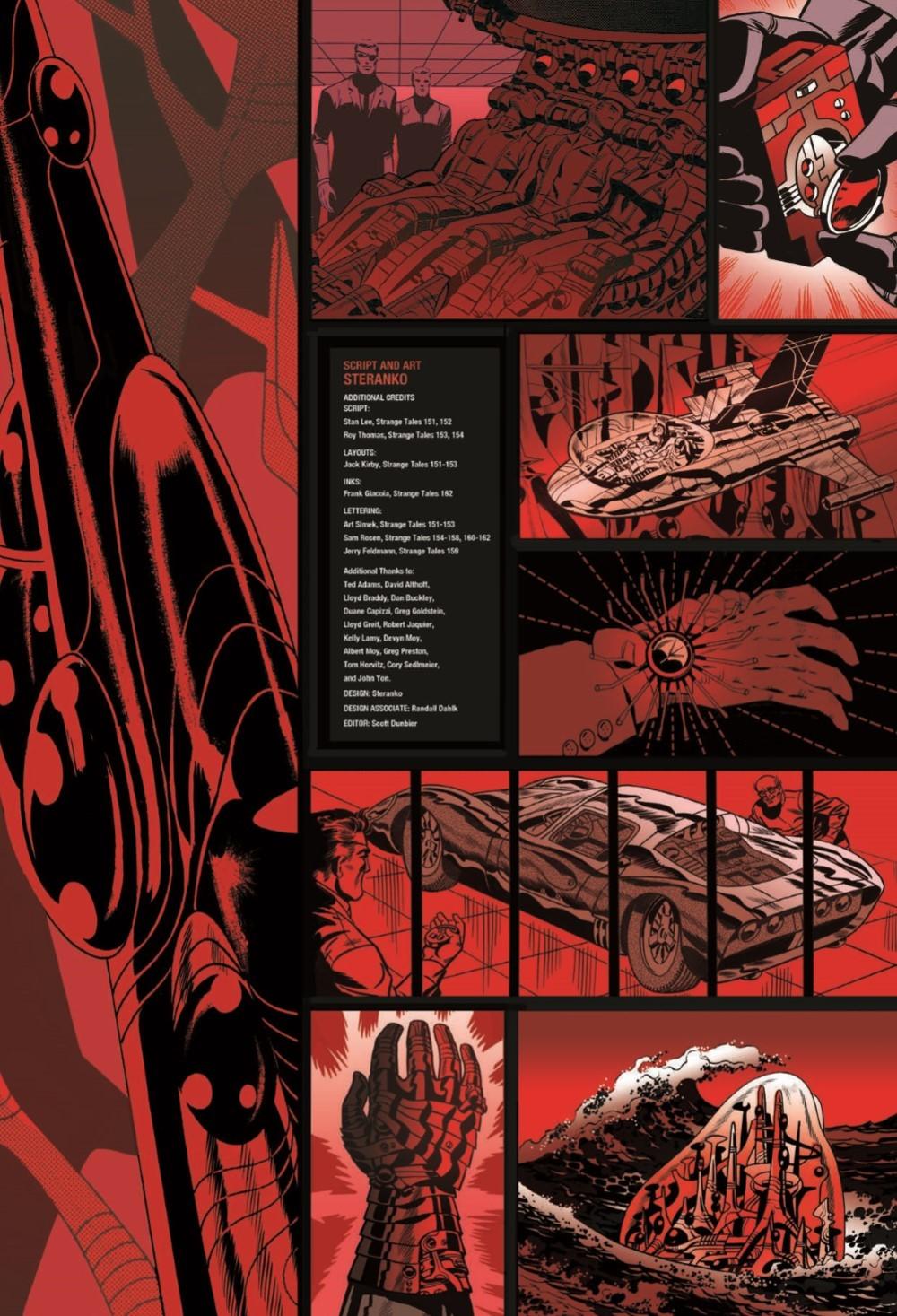 STERANKO_artisan_edition_pr-3 ComicList Previews: JIM STERANKO'S NICK FURY AGENT OF S.H.I.E.L.D. ARTISAN EDITION TP