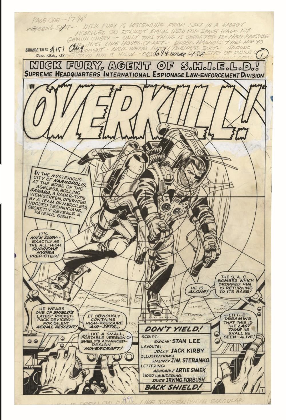 STERANKO_artisan_edition_pr-4 ComicList Previews: JIM STERANKO'S NICK FURY AGENT OF S.H.I.E.L.D. ARTISAN EDITION TP