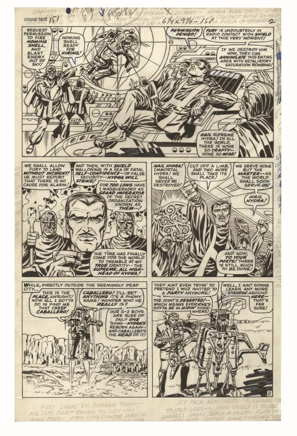 STERANKO_artisan_edition_pr-5 ComicList Previews: JIM STERANKO'S NICK FURY AGENT OF S.H.I.E.L.D. ARTISAN EDITION TP