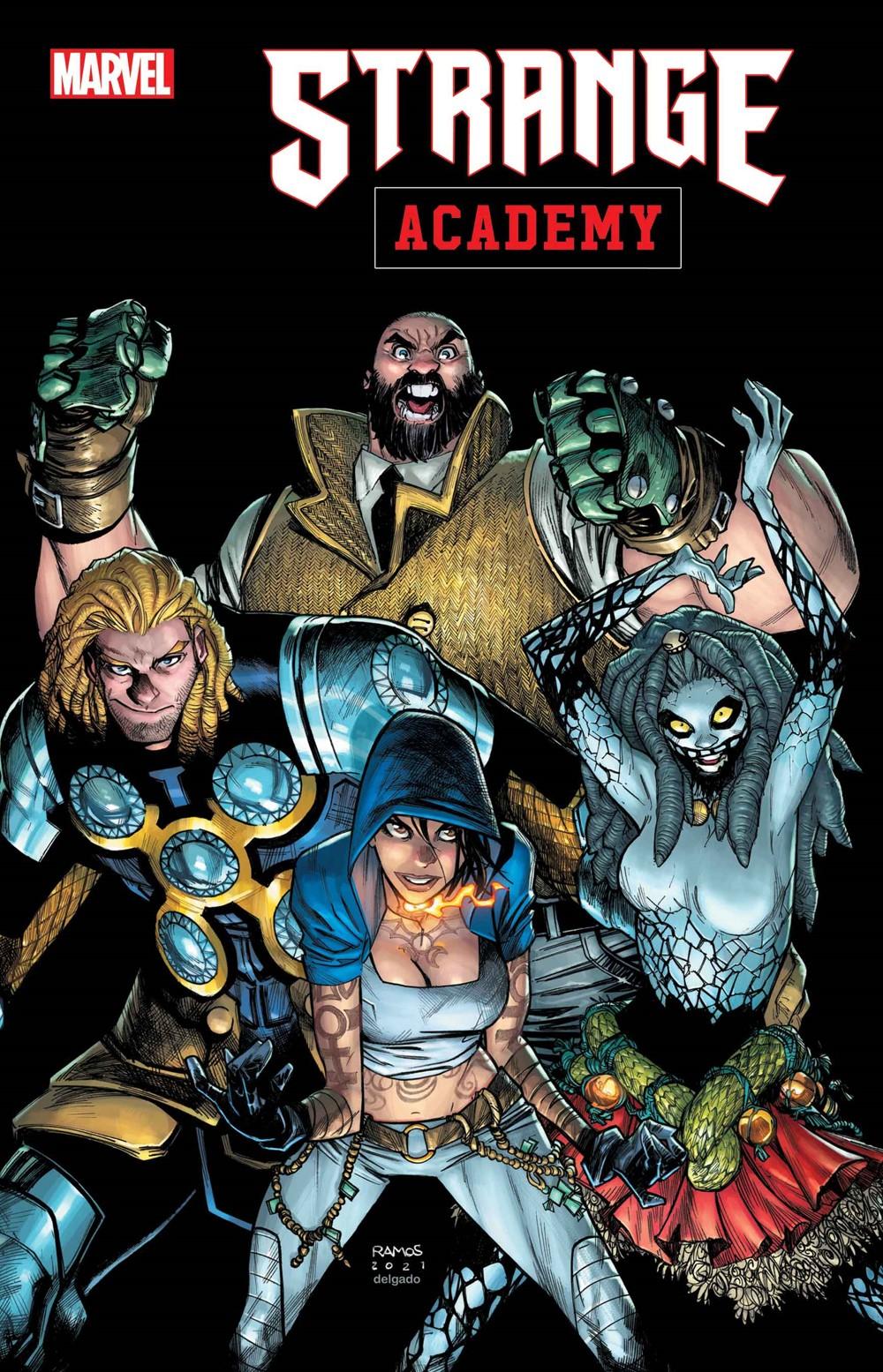 STRACADEMY2020014_cov Marvel Comics December 2021 Solicitations