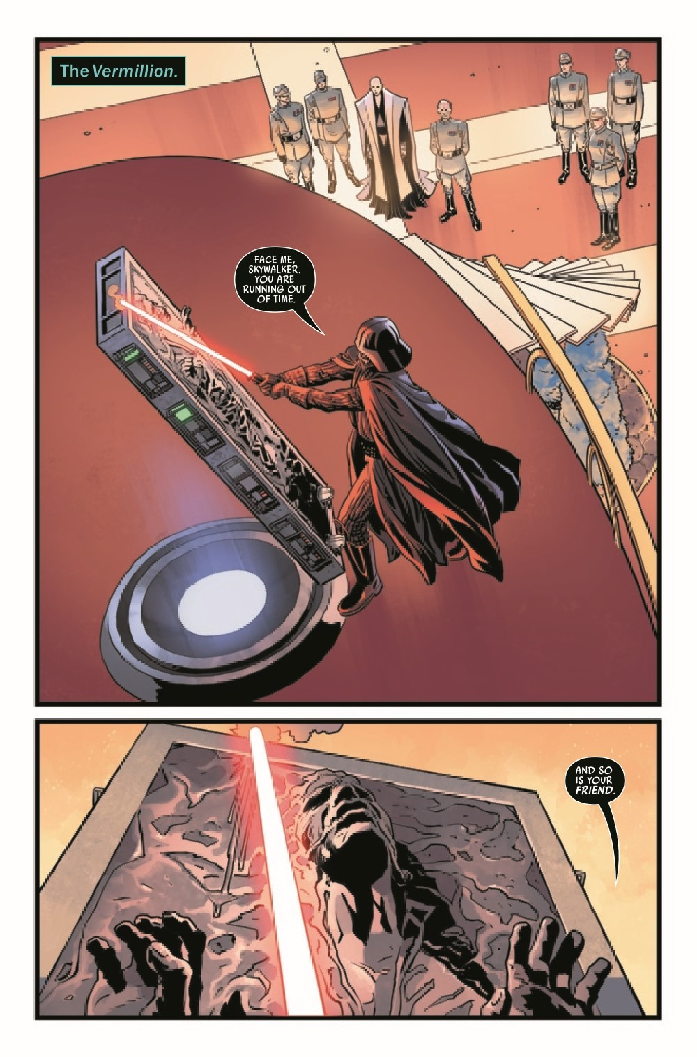 STWWAROTBH2021004_Preview-2 ComicList Previews: STAR WARS WAR OF THE BOUNTY HUNTERS #4 (OF 5)
