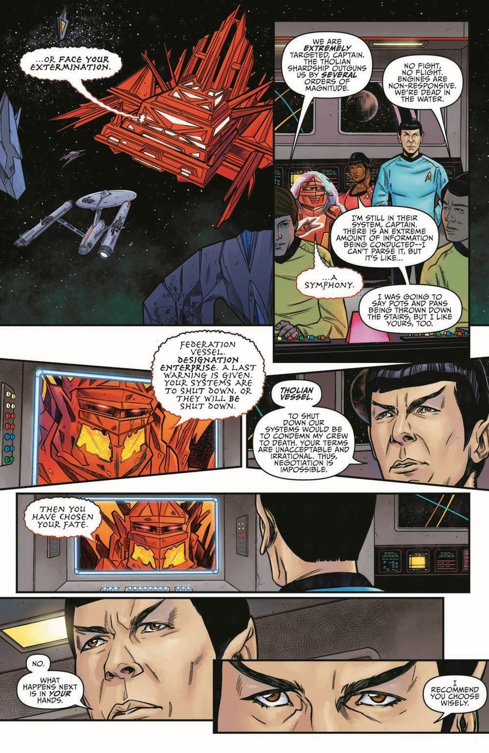ST_YearFive24-pr-6 ComicList Previews: STAR TREK YEAR FIVE #24