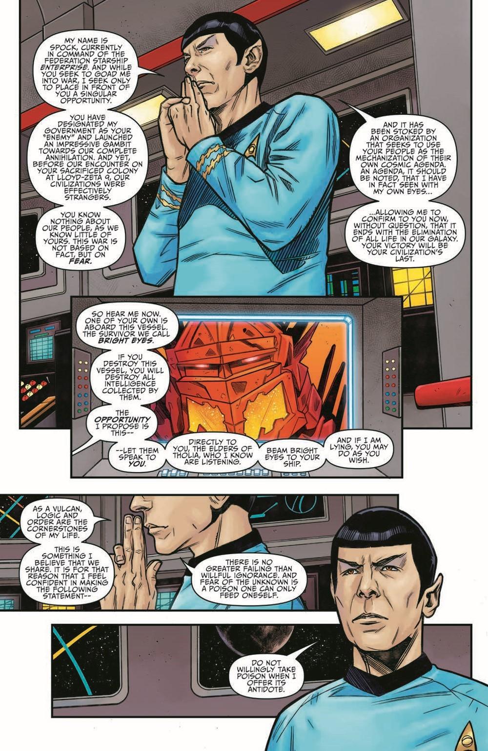 ST_YearFive24-pr-7 ComicList Previews: STAR TREK YEAR FIVE #24