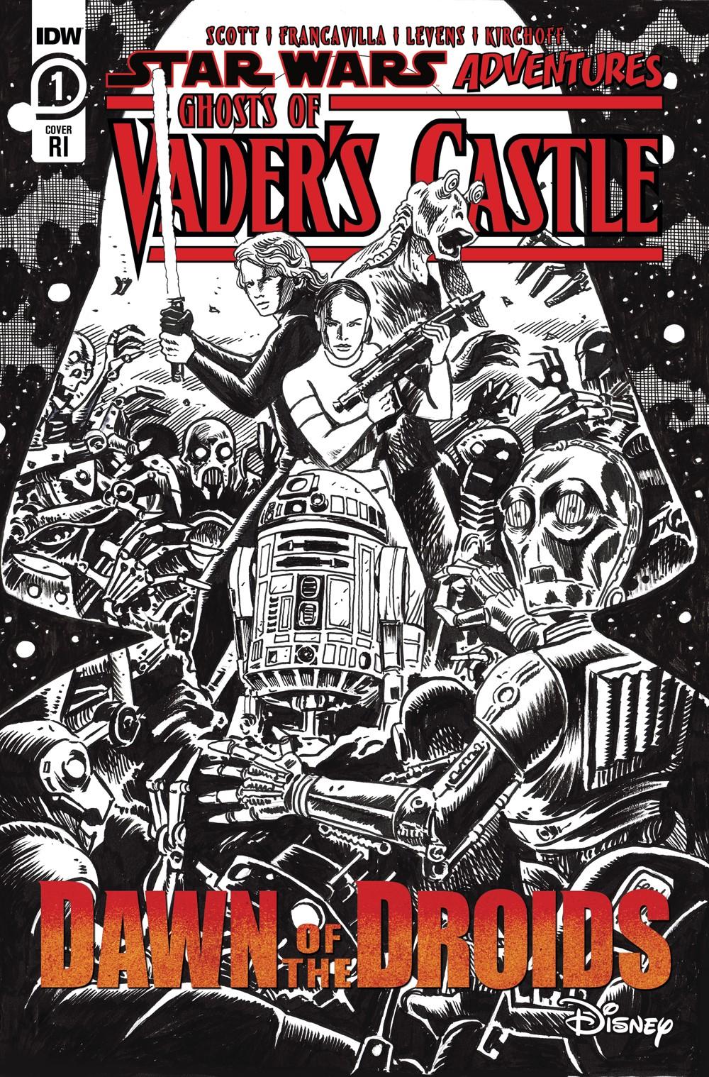 SW_GoVC01-CvrRI ComicList Previews: STAR WARS ADVENTURES GHOST OF VADER'S CASTLE #1 (OF 5)
