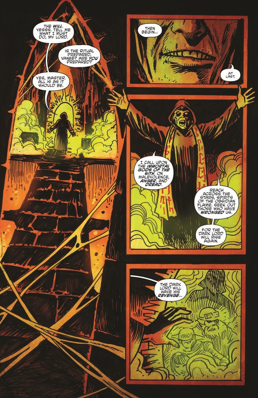 SW_GoVC01_pr-4 ComicList Previews: STAR WARS ADVENTURES GHOST OF VADER'S CASTLE #1 (OF 5)