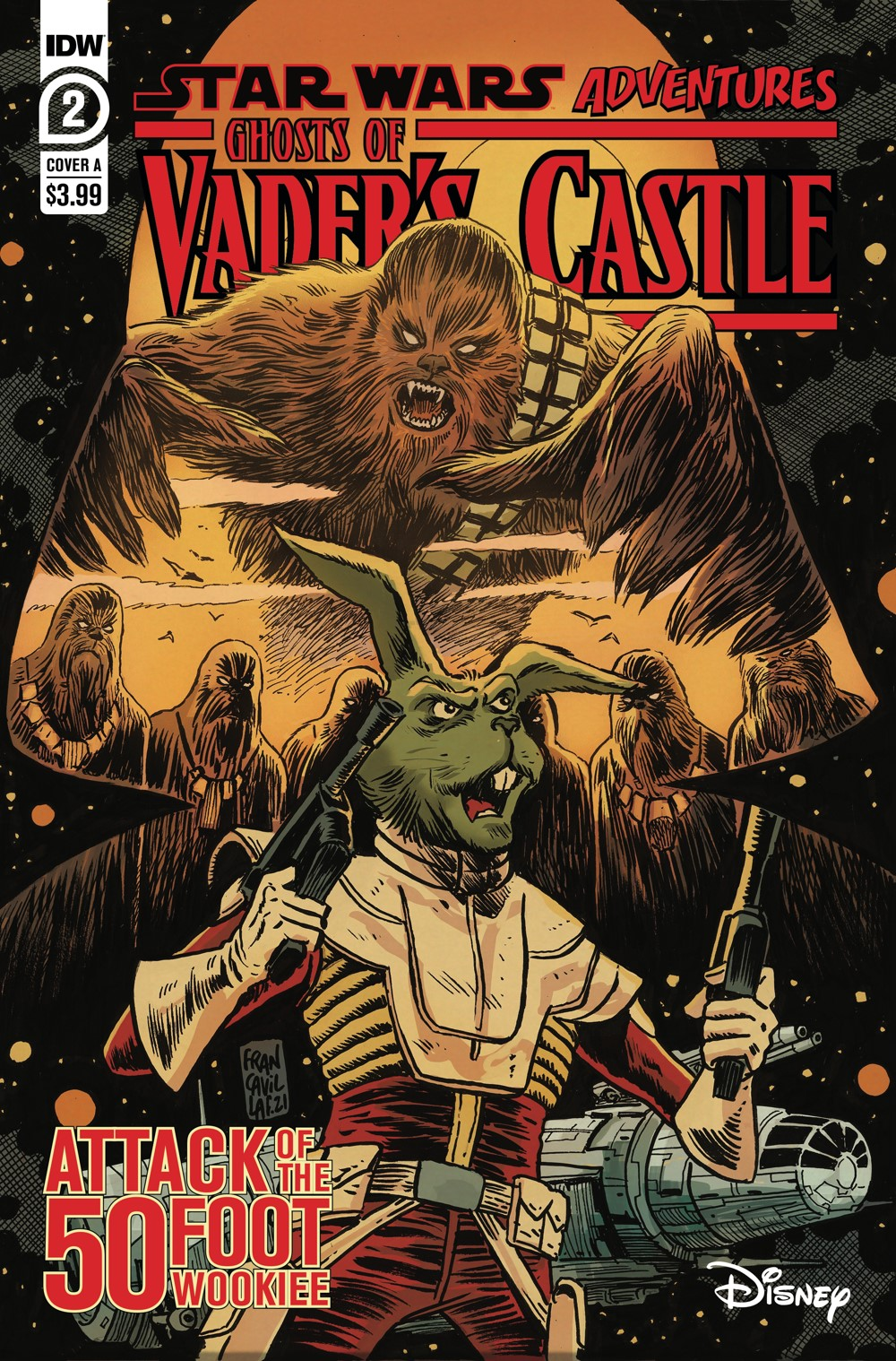 SW_GoVC02-CvrA ComicList Previews: STAR WARS ADVENTURES GHOST OF VADER'S CASTLE #2 (OF 5)