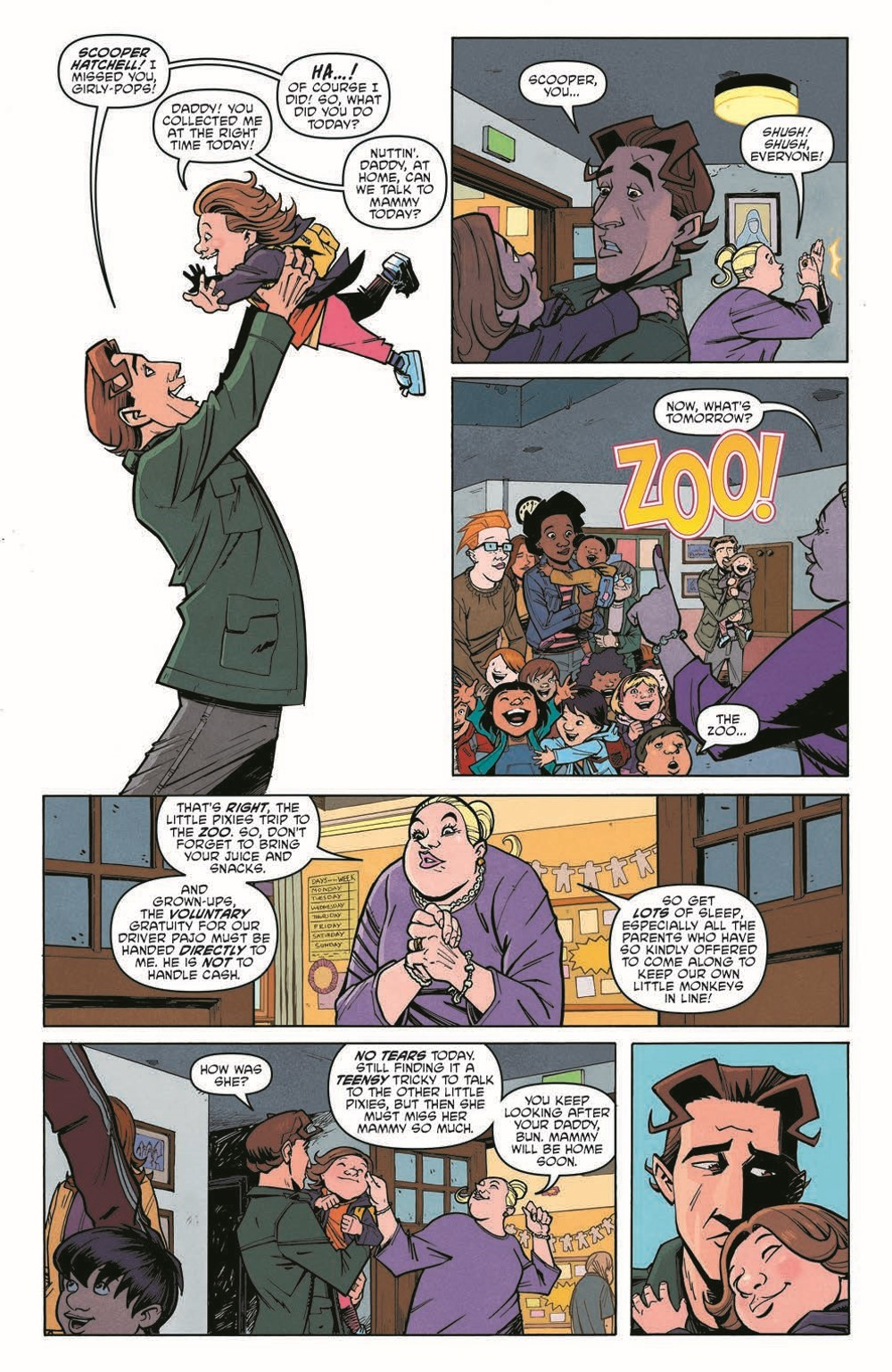 Scarenthood_pr-6 ComicList Previews: SCARENTHOOD TP