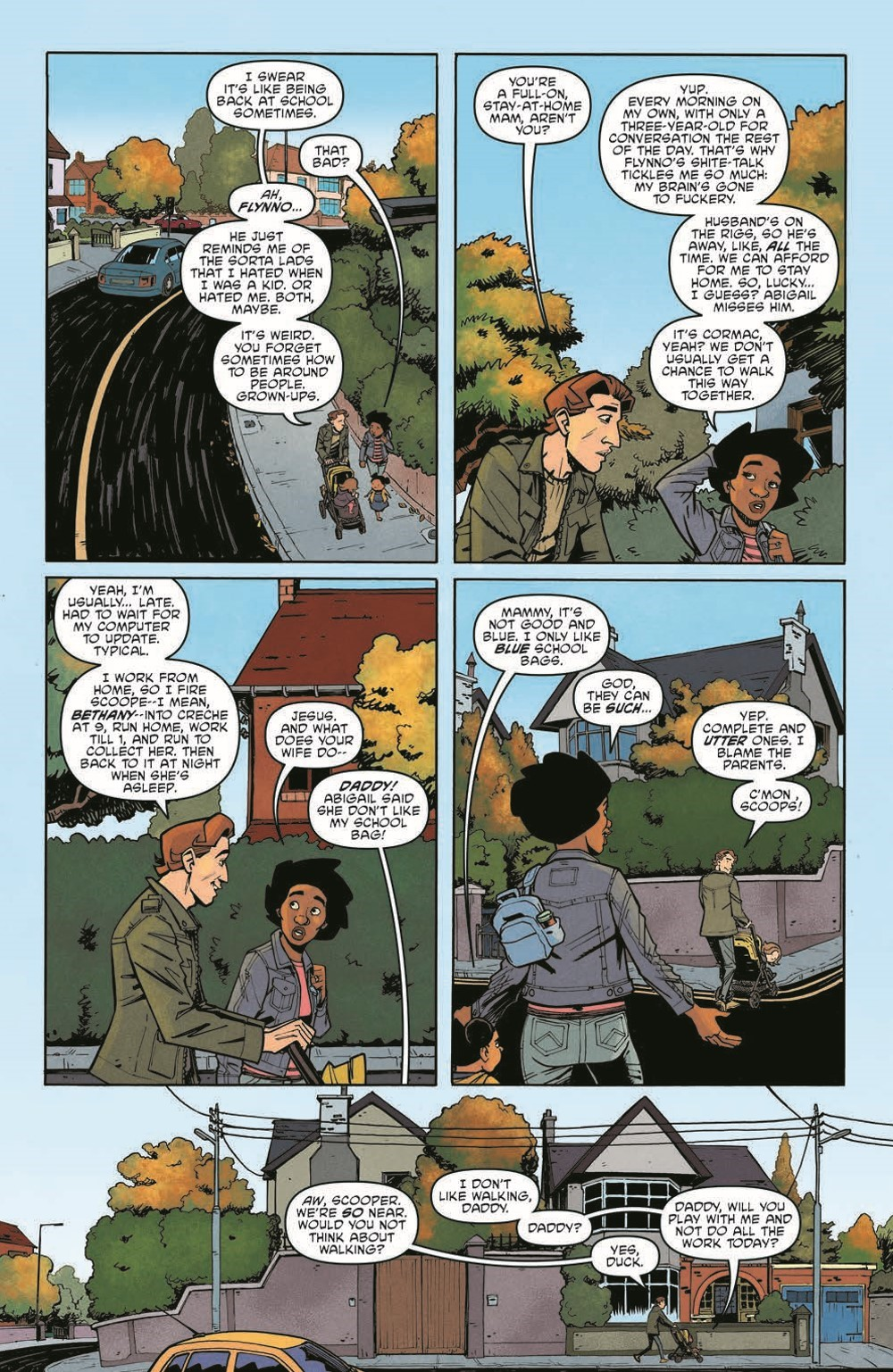 Scarenthood_pr-7 ComicList Previews: SCARENTHOOD TP