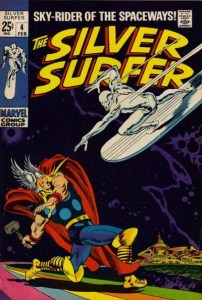 Silver-Surfer-4-202x300 John Buscema Original Art: Beyond Barbarians
