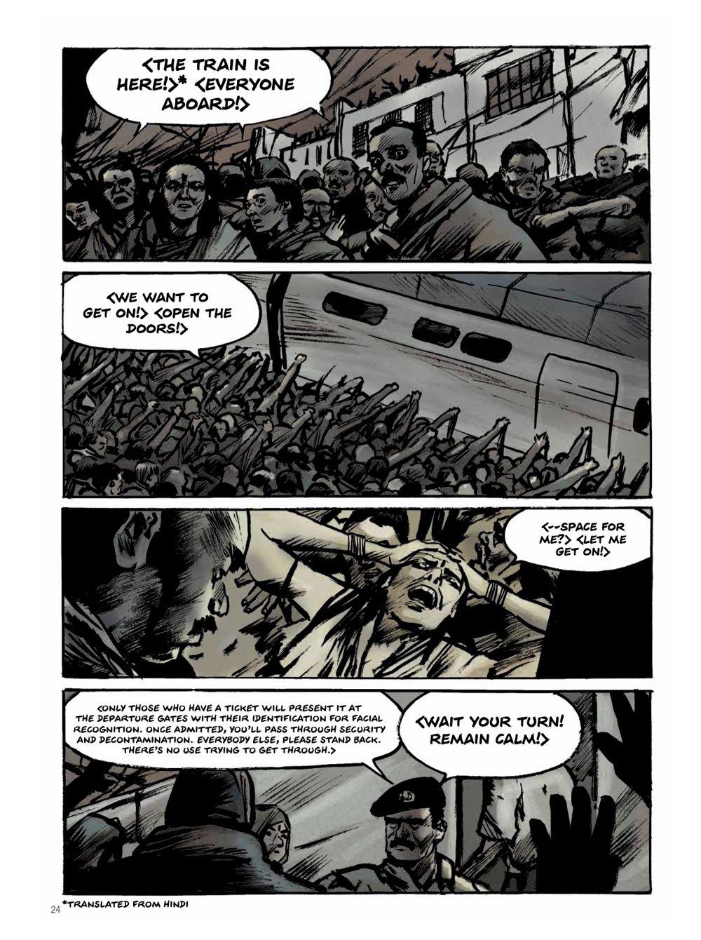Snowpiercer-Prequel-Vol.-2-Page-3 ComicList Previews: SNOWPIERCER THE PREQUEL VOLUME 2 APOCALYPSE GN