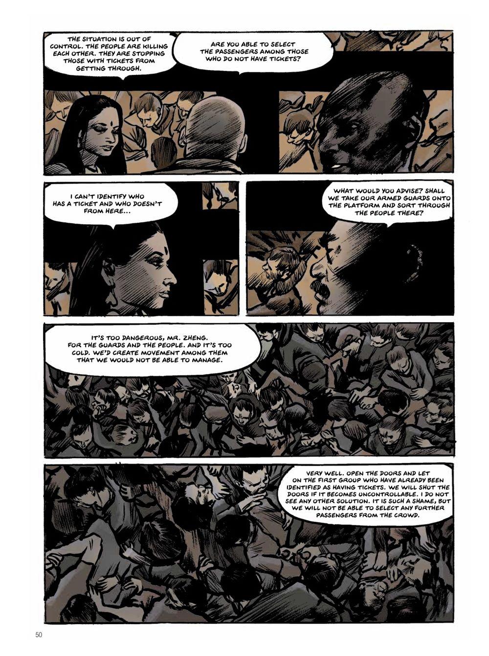 Snowpiercer-Prequel-Vol.-2-Page-4 ComicList Previews: SNOWPIERCER THE PREQUEL VOLUME 2 APOCALYPSE GN