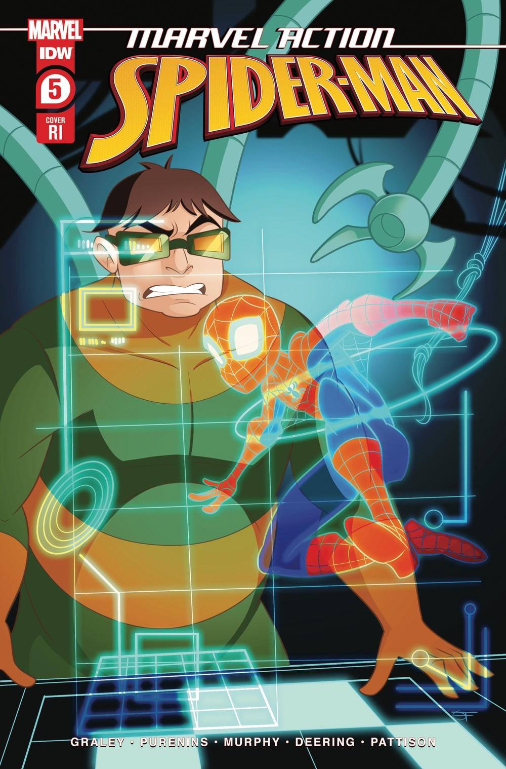 SpidermanV3-05_cvrRI ComicList: IDW Publishing New Releases for 09/22/2021