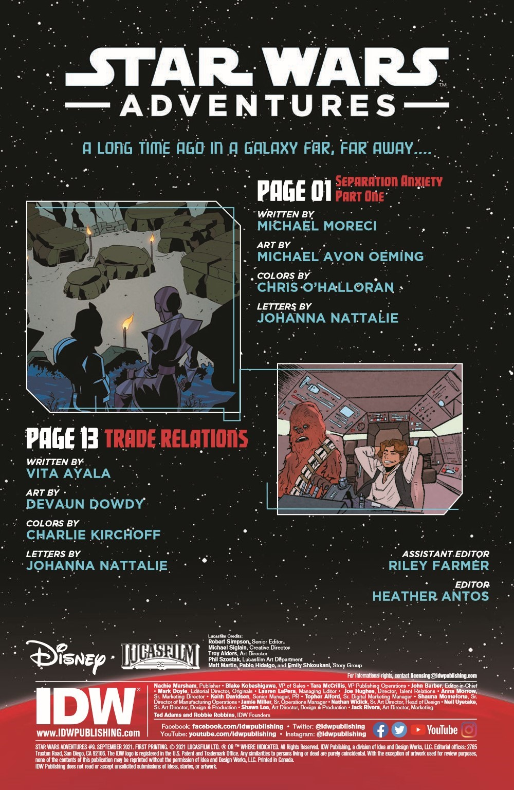 StarWarsAdv09-pr-2 ComicList Previews: STAR WARS ADVENTURES VOLUME 2 #9