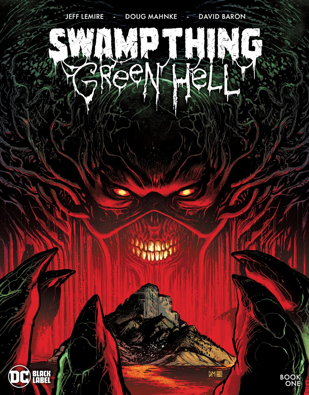 SwampThing_GreenHell_Cv1 DC Comics December 2021 Solicitations