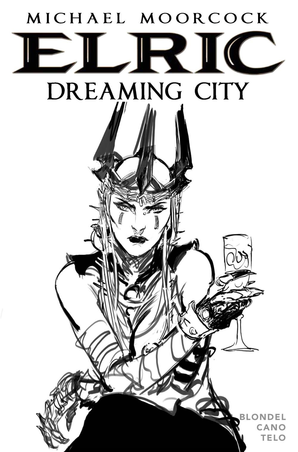 TELO-FOC-CVR ComicList Previews: ELRIC THE DREAMING CITY #2