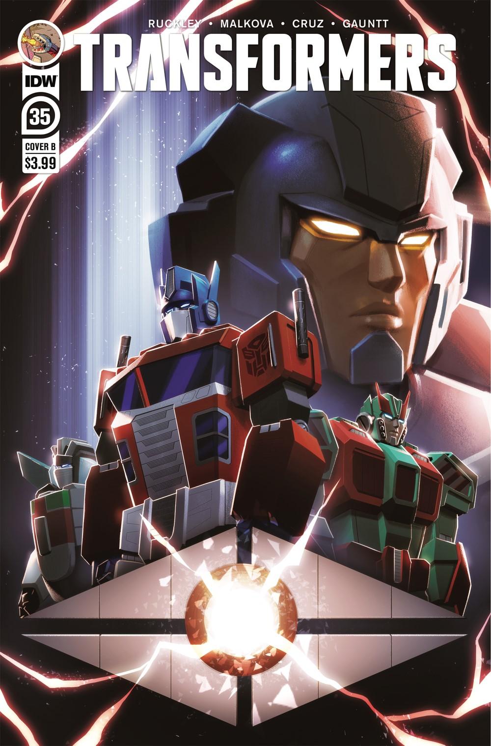 TF35-cvr-B ComicList Previews: TRANSFORMERS #35