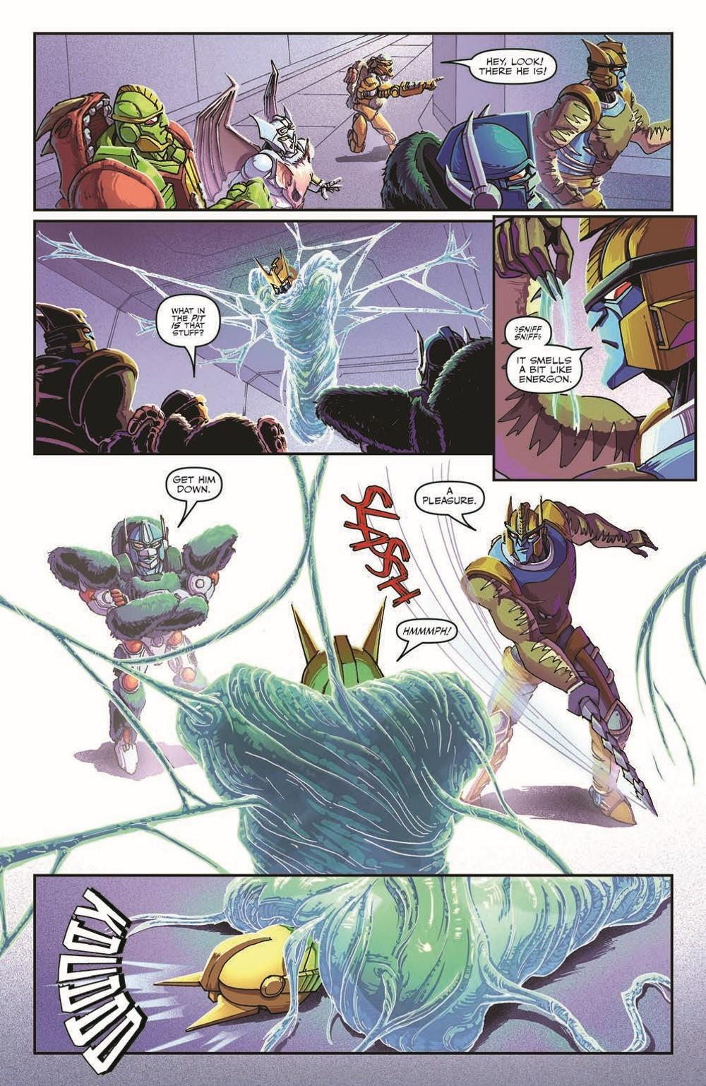 TFBW_08_pr-4 ComicList Previews: TRANSFORMERS BEAST WARS #8