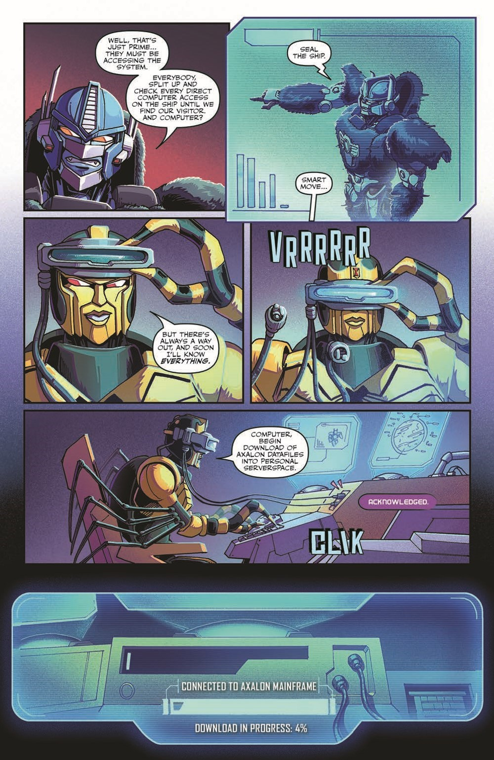 TFBW_08_pr-6 ComicList Previews: TRANSFORMERS BEAST WARS #8