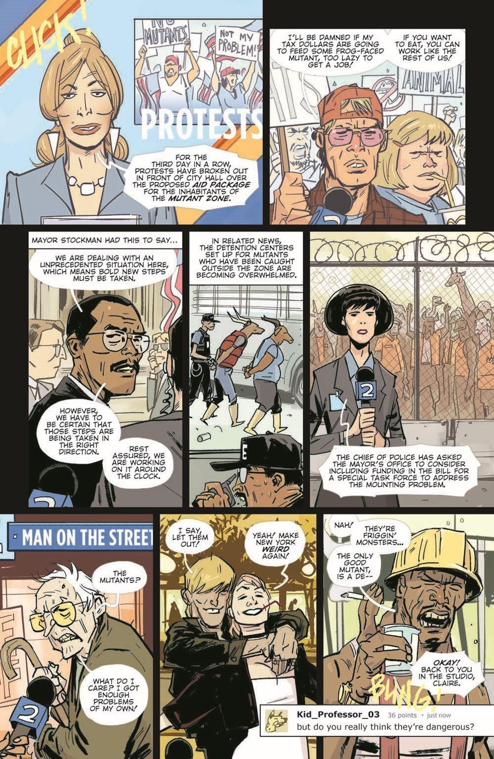 TMNT-Jennika02_pr-4 ComicList Previews: TEENAGE MUTANT NINJA TURTLES JENNIKA II TP