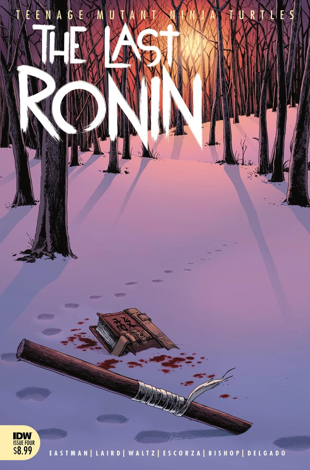 TMNT-LastRonin04_cvrA ComicList Previews: TEENAGE MUTANT NINJA TURTLES THE LAST RONIN #4 (OF 5)